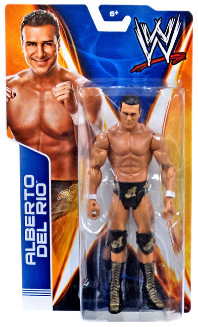 WWE Wrestling Signature Series Alberto Del Rio Action Figure