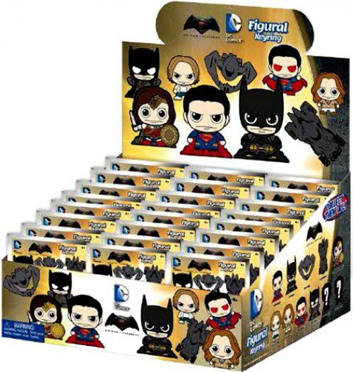 DC 3D Figural Keyring Batman Vs. Superman Mystery Box [24 Packs]
