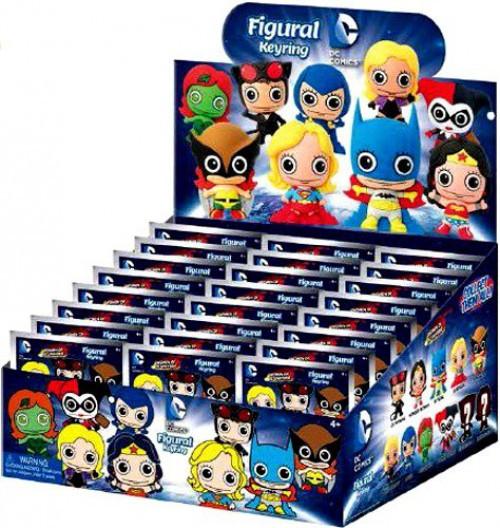 3D Figural Keyring Women of DC Mystery Box [24 Packs]