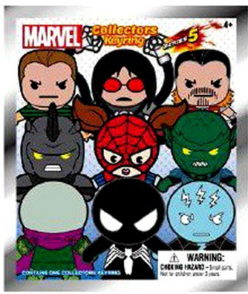 3D Figural Keyring Marvel Series 5 Mystery Pack [1 RANDOM Figure]
