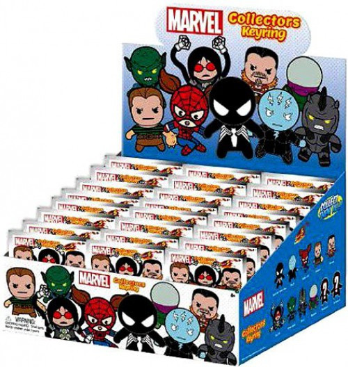 3D Figural Keyring Marvel Series 5 Mystery Box [24 Packs]