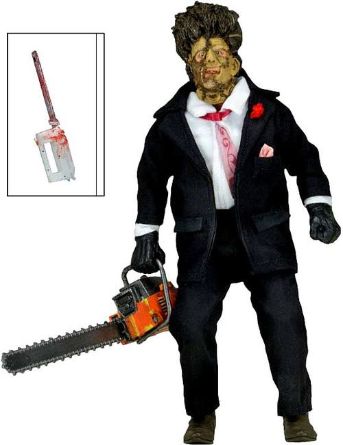 NECA Texas Chainsaw Massacre 2 Leatherface Clothed Action Figure