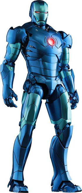 Marvel Movie Masterpiece Diecast Iron Man Mark III Exclusive Collectible Figure [Stealth Mode]