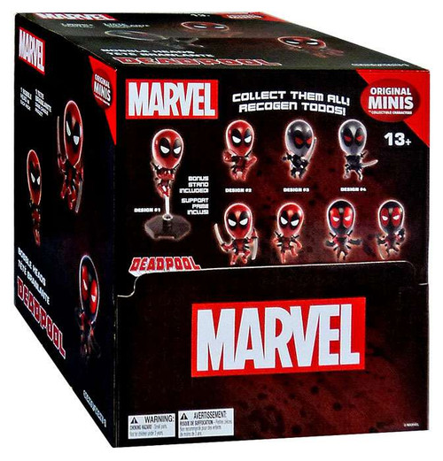 Marvel Original Minis Series 1 Deadpool Bobble Head Mystery Box