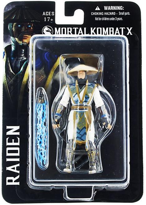 Mortal Kombat X Raiden Action Figure [4-Inch]