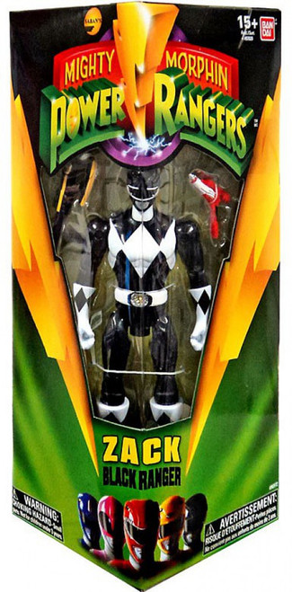 Mighty Morphin Power Rangers Zack Black Ranger Action Figure