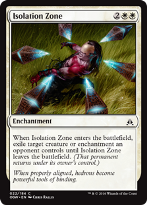 MtG Oath of the Gatewatch Common Foil Isolation Zone #22