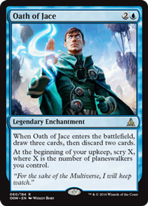 Oath of the Gatewatch Bearer of Silence MTG Magic Foil Near Mint Rare