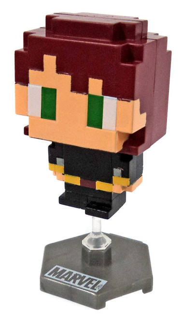 Marvel Original Minis Pixelated Heroes Series 1 Black Widow Mini Bobble Head [Loose]