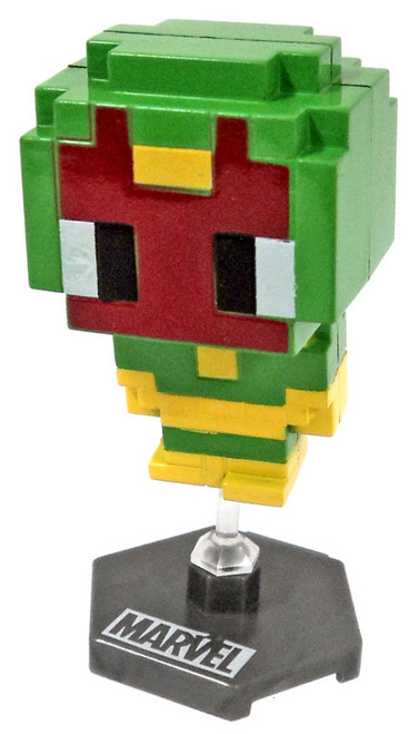 Marvel Original Minis Pixelated Heroes Series 1 Vision Mini Bobble Head [Loose]