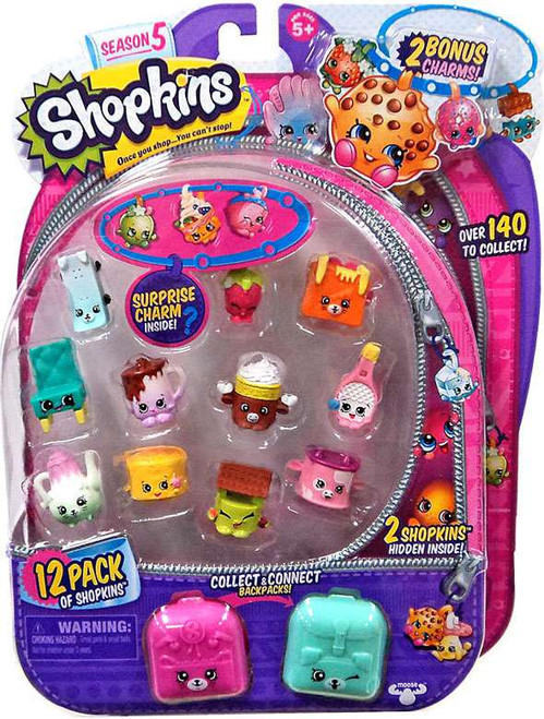 Shopkins Season 5 Mini Figure 12-Pack