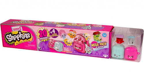 Shopkins Season 5 Mega 20-Pack