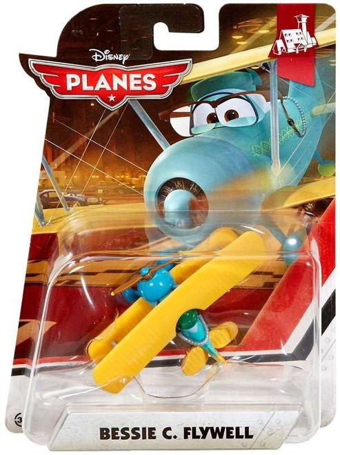 Disney Planes Grand Fusel Lodge Bessie C. Flywell Diecast Plane