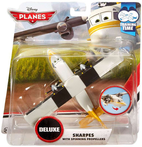 Disney Planes Training Time Sharpes Diecast Plane [with Spinning Propellers]
