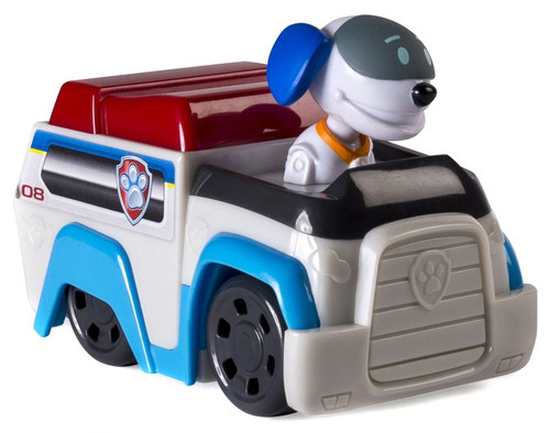 Paw Patrol Rescue Racer Robo Dog Figure [Robodgo Figure Does Not Come Out!]