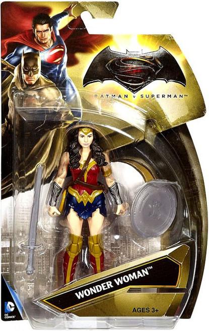 DC Batman v Superman: Dawn of Justice Wonder Woman Action Figure [Gold]