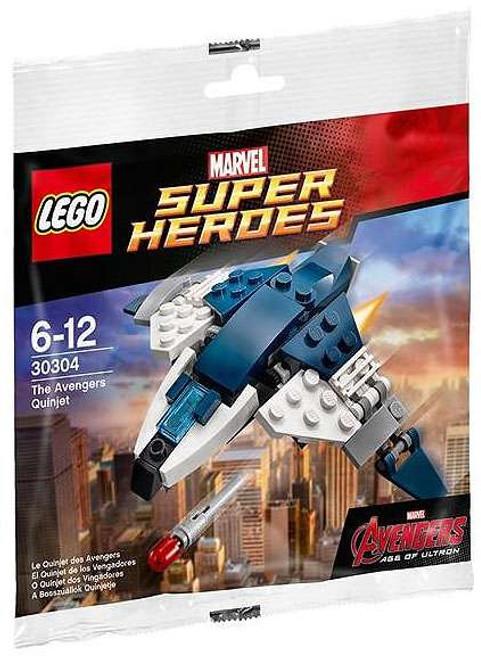 LEGO Marvel Avengers Age of Ultron The Avengers Quinjet Mini Set #30304 [Bagged]