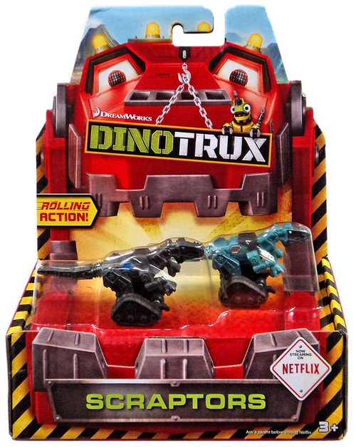 Dinotrux Scraptors Diecast Figure 2-Pack