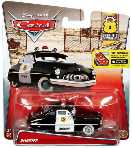 Disney / Pixar Cars Sheriff's Impound Lot Sheriff Diecast Car #5/6