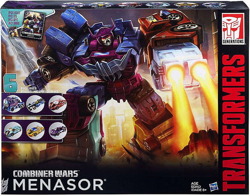 Transformers Generations Combiner Wars G2 Menasor Action Figure Collection Pack