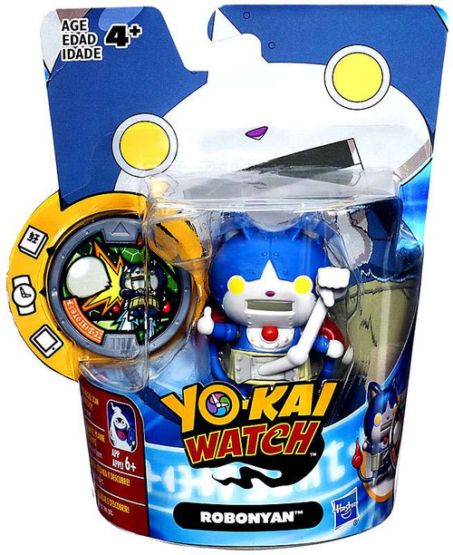 Yo-Kai Watch Medal Moments Robonyan Mini Figure [Version 1]