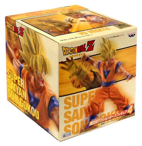 Dragon Ball Z Super Saiyan Son Goku 5-Inch PVC Statue