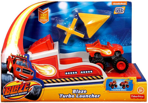 Fisher Price Blaze & the Monster Machines Blaze Turbo Launcher