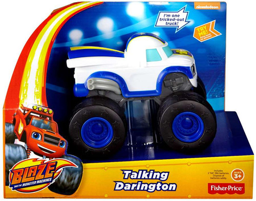 Fisher Price Blaze & the Monster Machines Talking Darington