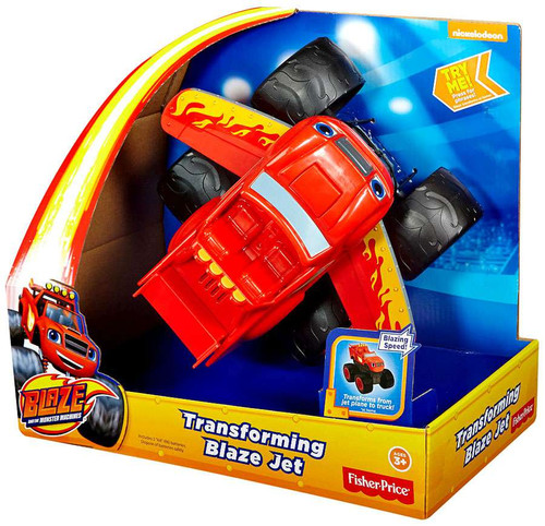 Fisher Price Blaze & the Monster Machines Transforming Blaze Jet
