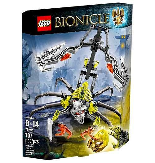 LEGO Bionicle Skull Scorpio Set #70794