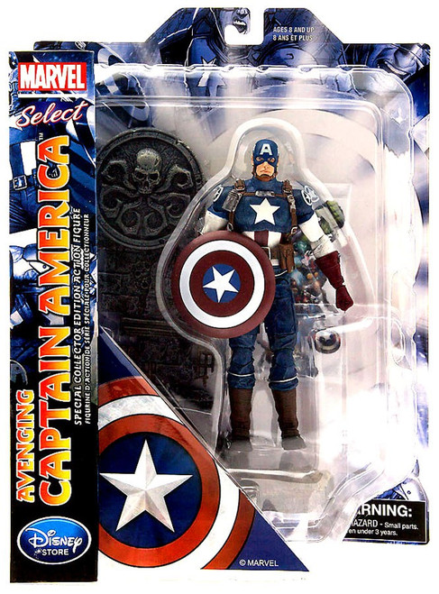 Marvel Select Avenging Captain America Exclusive Action Figure