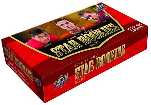 NHL 2015-16 Star Rookies Hockey Trading Card Box Set [25 Top Rookies!]