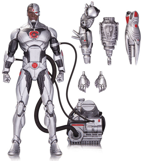 DC Icons Cyborg Action Figure [Justice League Forever Evil]