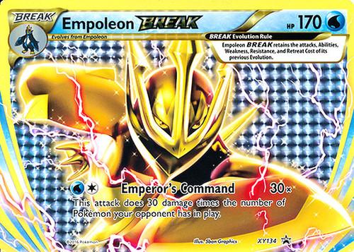 Pokemon X & Y Promo Rare Holo BREAK Empoleon BREAK XY134