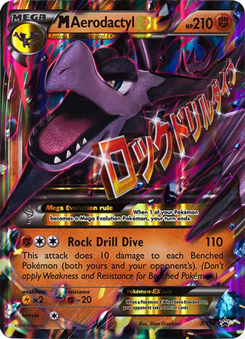 Pokemon X & Y Promo Ultra Rare M Aerodactyl EX XY98