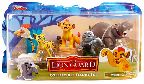 Disney The Lion Guard Figure 5-Pack