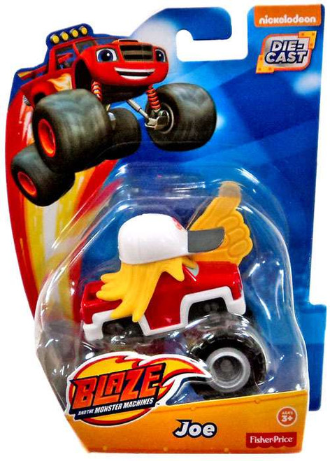 Fisher Price Blaze & the Monster Machines Joe Diecast Car