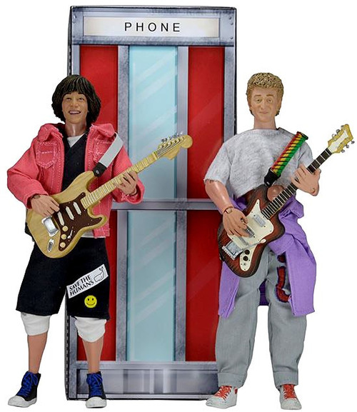 NECA Bill & Ted's Excellent Adventure Bill & Ted Clothed Action Figures