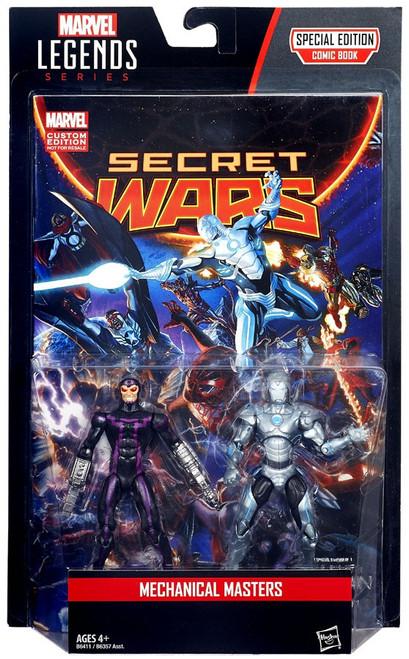Marvel Legends Machine Man & Iron Man Action Figure 2-Pack [Mechanical Masters]