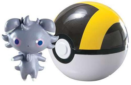 Pokemon Clip n Carry Pokeball Espurr with Ultra Ball Figure Set