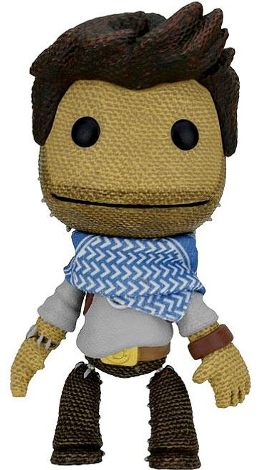 NECA Little Big Planet Series 2 Nathan Drake Sackboy Action Figure