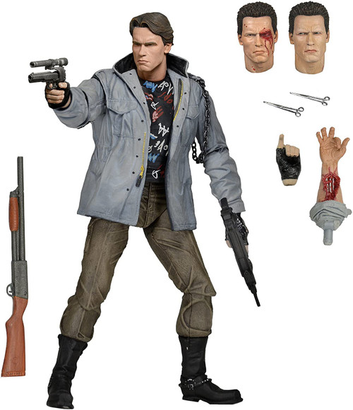 NECA Terminator Ultimate Tech Noir T-800 Action Figure