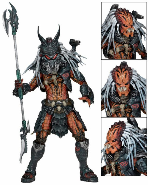 NECA Predator Kenner Deluxe Clan Leader Action Figure