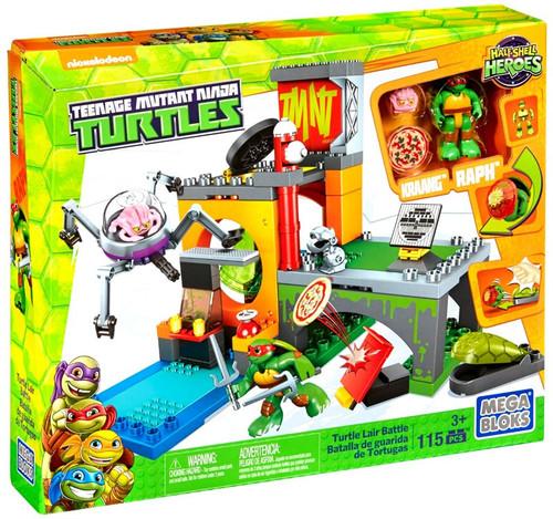 Mega Bloks Teenage Mutant Ninja Turtles Half Shell Heroes Turtle Lair Battle Set #29005