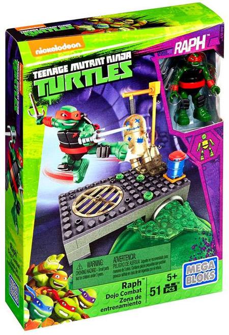 Mega Bloks Teenage Mutant Ninja Turtles Animation Raph Dojo Combat Set #29020