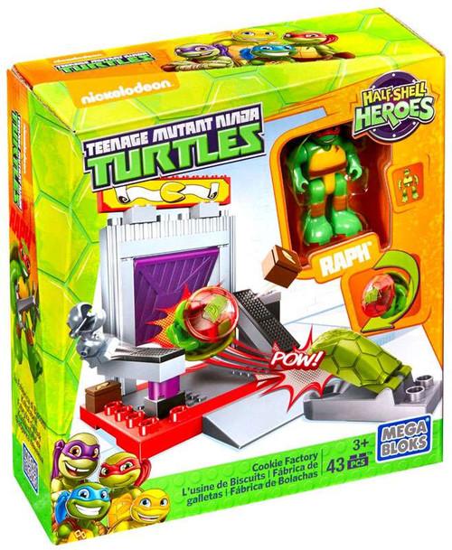 Mega Bloks Teenage Mutant Ninja Turtles Half Shell Heroes Cookie Factory Set #28937
