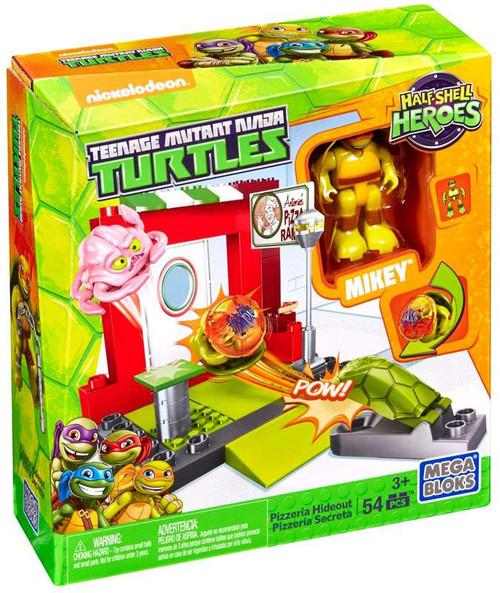 Mega Bloks Teenage Mutant Ninja Turtles Half Shell Heroes Pizzeria Hideout Set #28936