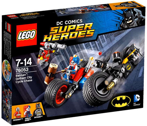LEGO DC Super Heroes Gotham City Cycle Chase Set #76053