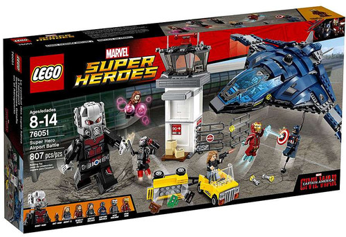 LEGO Marvel Super Heroes Captain America: Civil War Super Hero Airport Battle Set #76051
