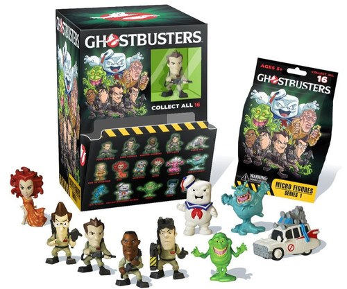 Ghostbusters Micro Figures Series 1 Mystery Box [24 Packs]